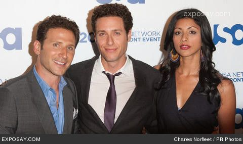 Love this cast.  Royal Pains USA network