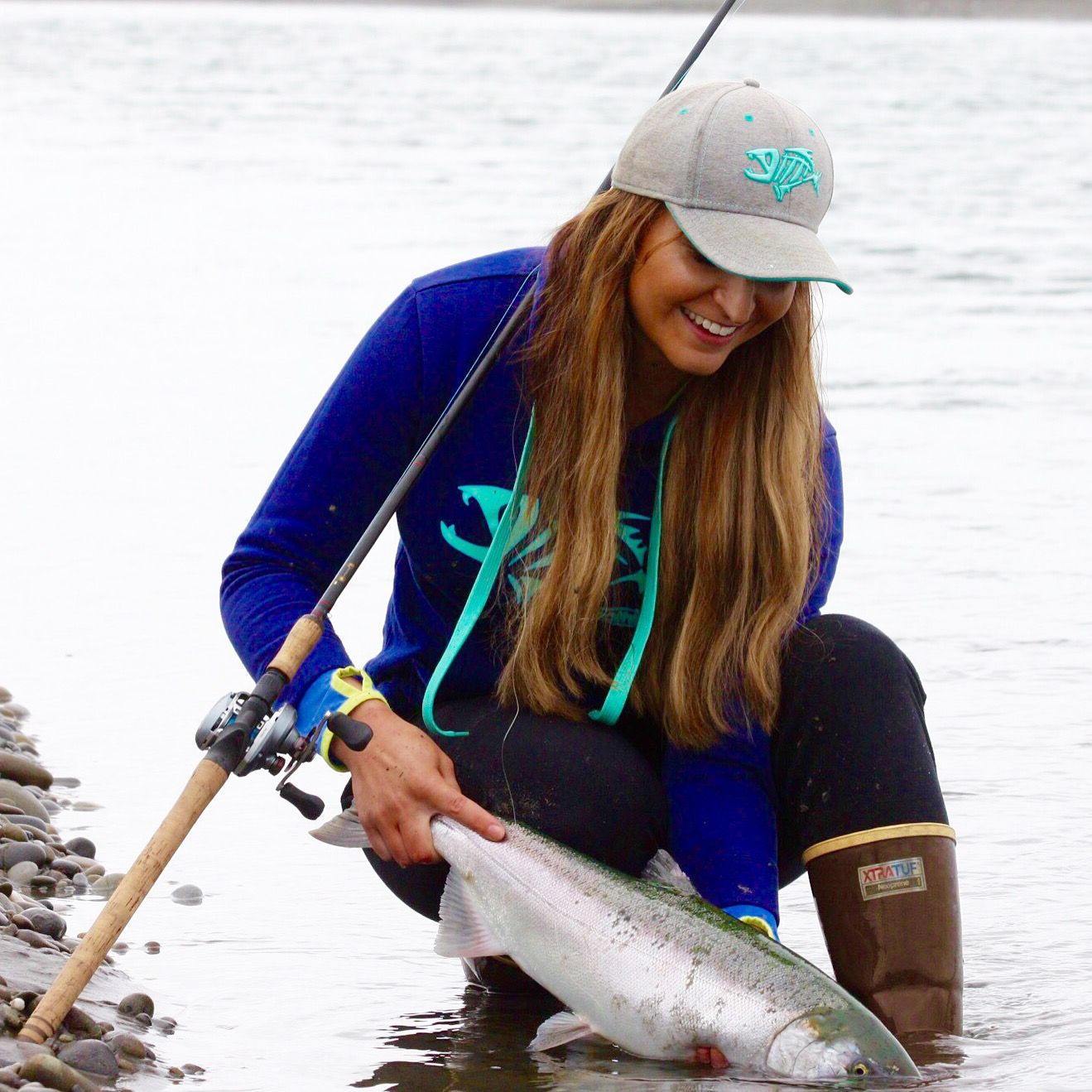 Fall salmon with Ashley Nichole Lewis