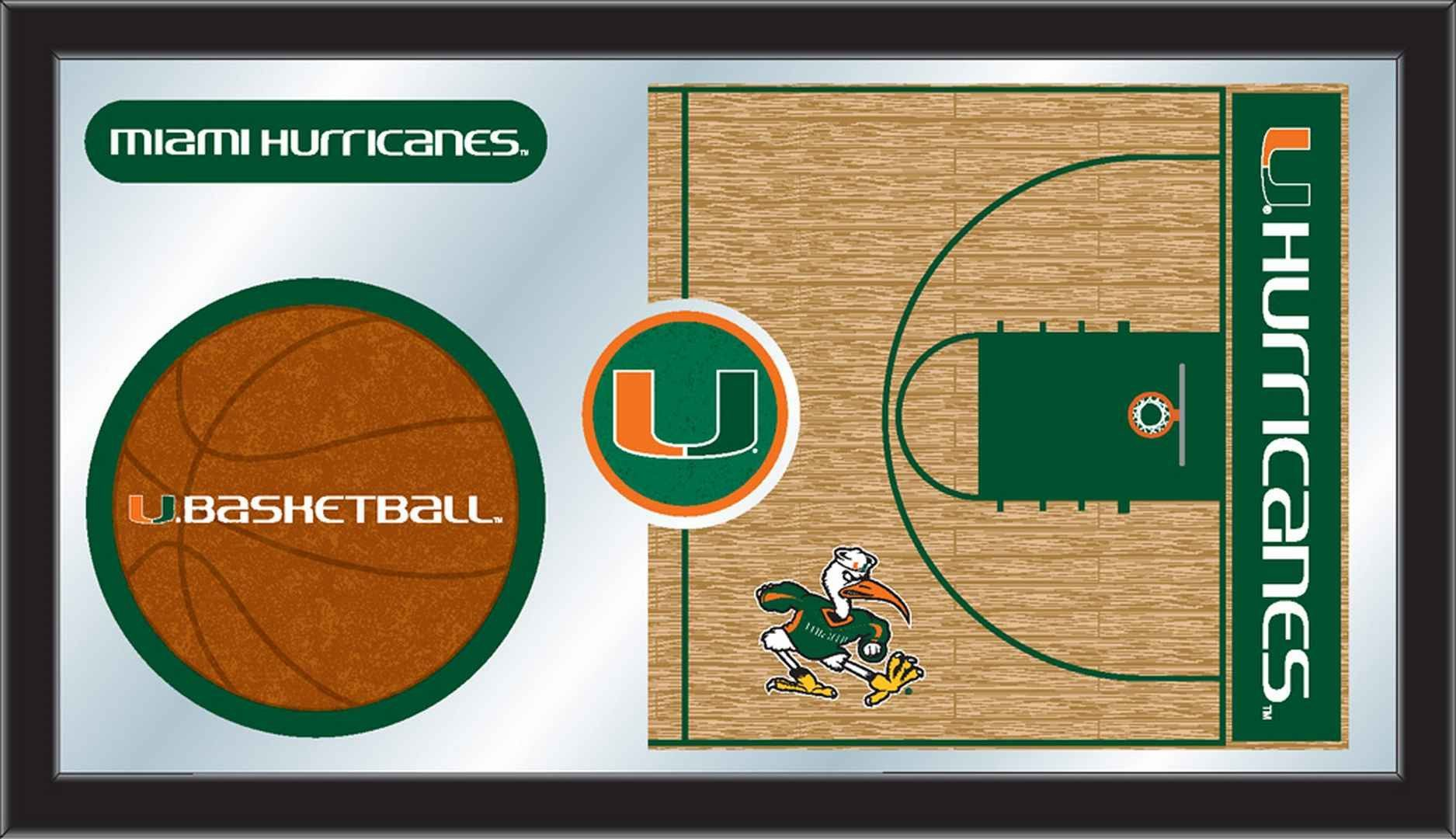 Basketball Mirror - University of Miami (FL) (With images ...