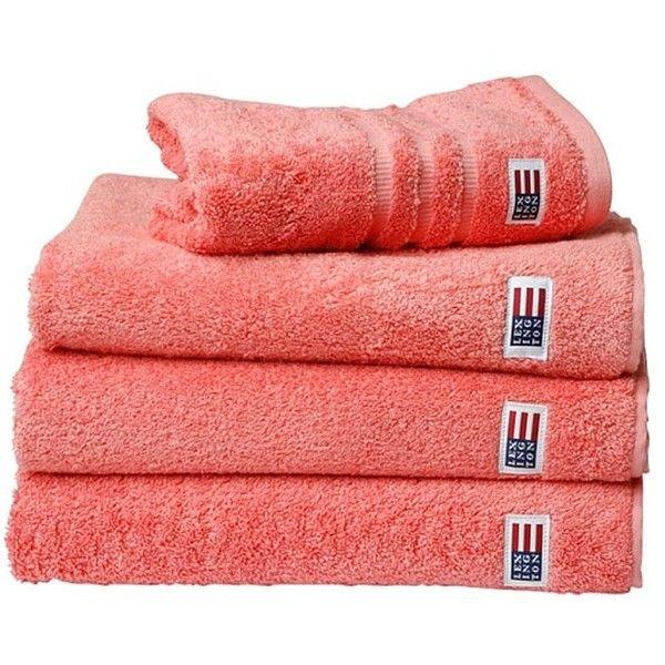 Lexington Original Towel - Coral ( 21) ❤ liked on Polyvore ... 9b0cbc21c67bb