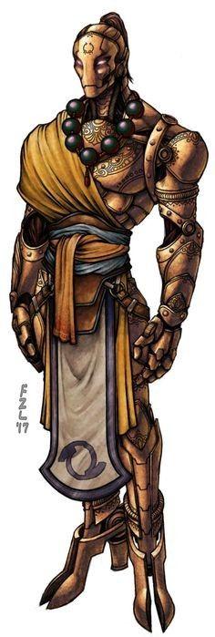 Warforged Monk   D&D Characters & NPC ideas  in 2019