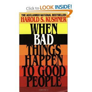"Harold Kushner ""gets"" why bad things happen, and how we should react when they do. I highly recommend this book and have passed it onto friends in times of trouble."