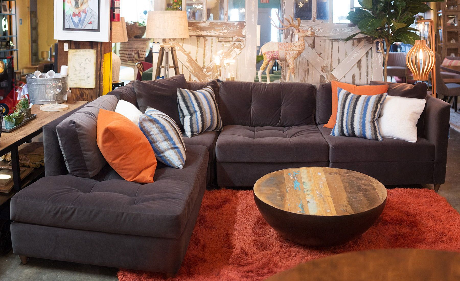 A Melt Into Me Lush Sectional From City Home In Portland Oregon Living Room Style Home Furniture