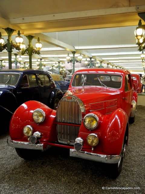 If you're a car fan, you can not miss the largest automobile museum in the world, with more than 500 vehicles among the most prestigious !  Si vous aimez les voitures, alors vous ne pouvez pas rater le plus grand musée automobile du monde avec plus de 500 véhicules parmi les plus prestigieux ! Address / Adresse : 192, avenue de Colmar 67200 Mulhouse