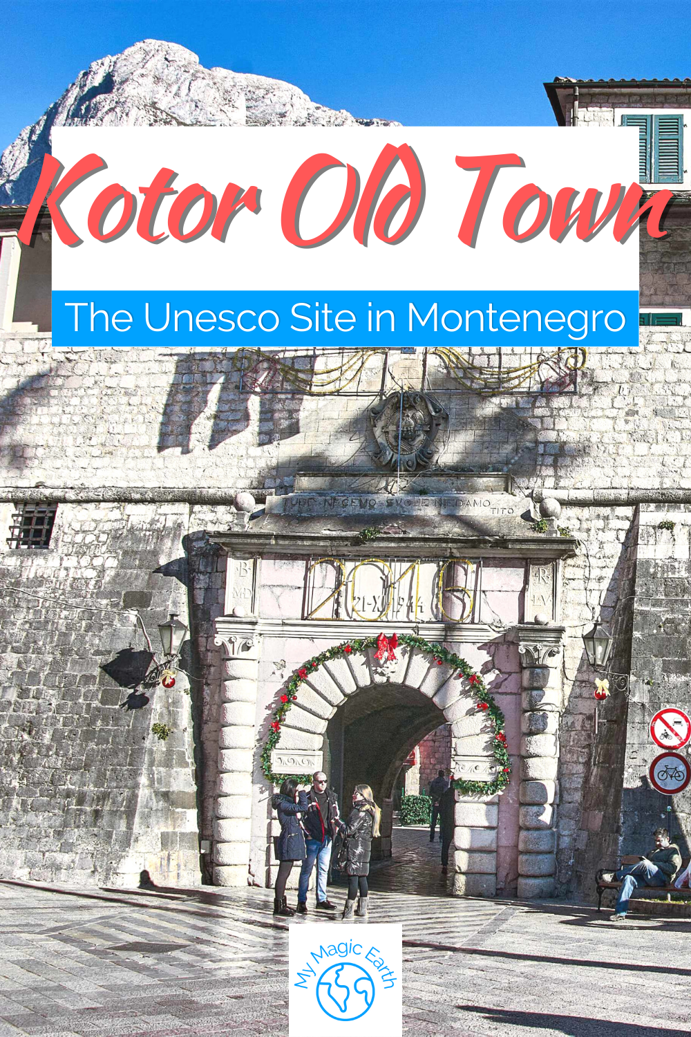 Kotor, a Well Preserved Medieval Town Kotor Monten