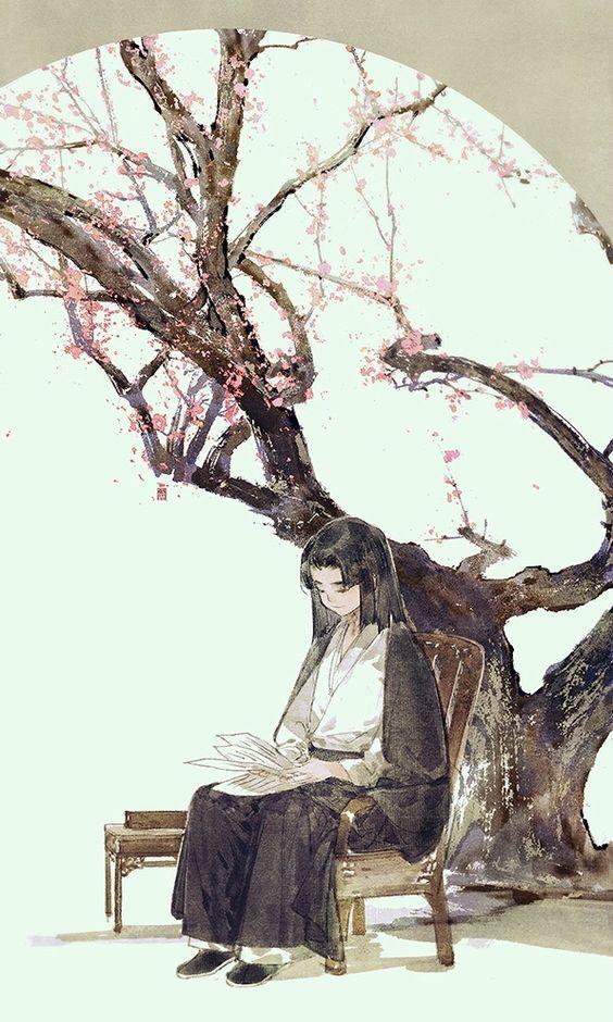 Wang Xuan Ruckblick Chinesische Malerei Xishi De