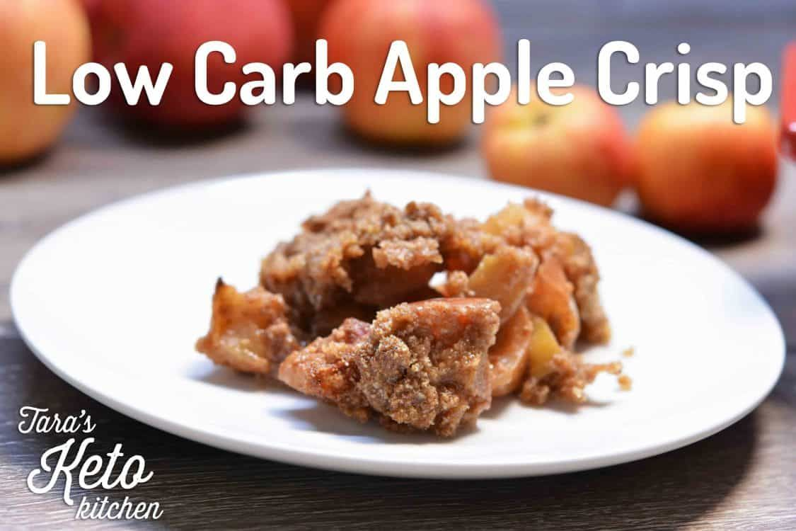 Low Carb Apple Crisp Recipe: Grain Free, Added Sugar-Free