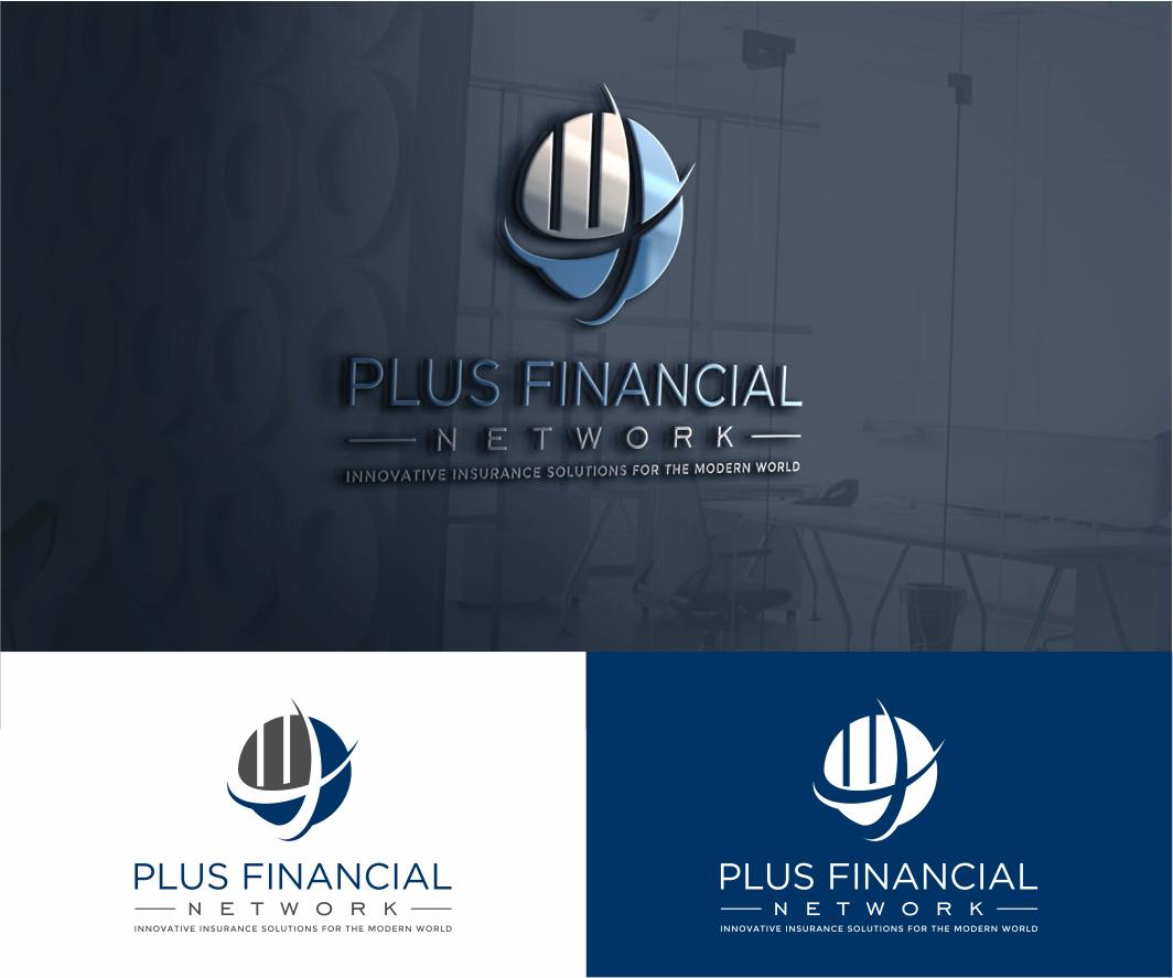Winning Design 426 By Chrissara79 Logo Design For Plus Financial