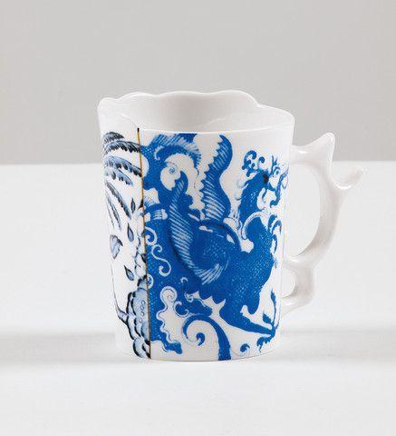 Hybrid Procopia Porcelain Mug design by Seletti