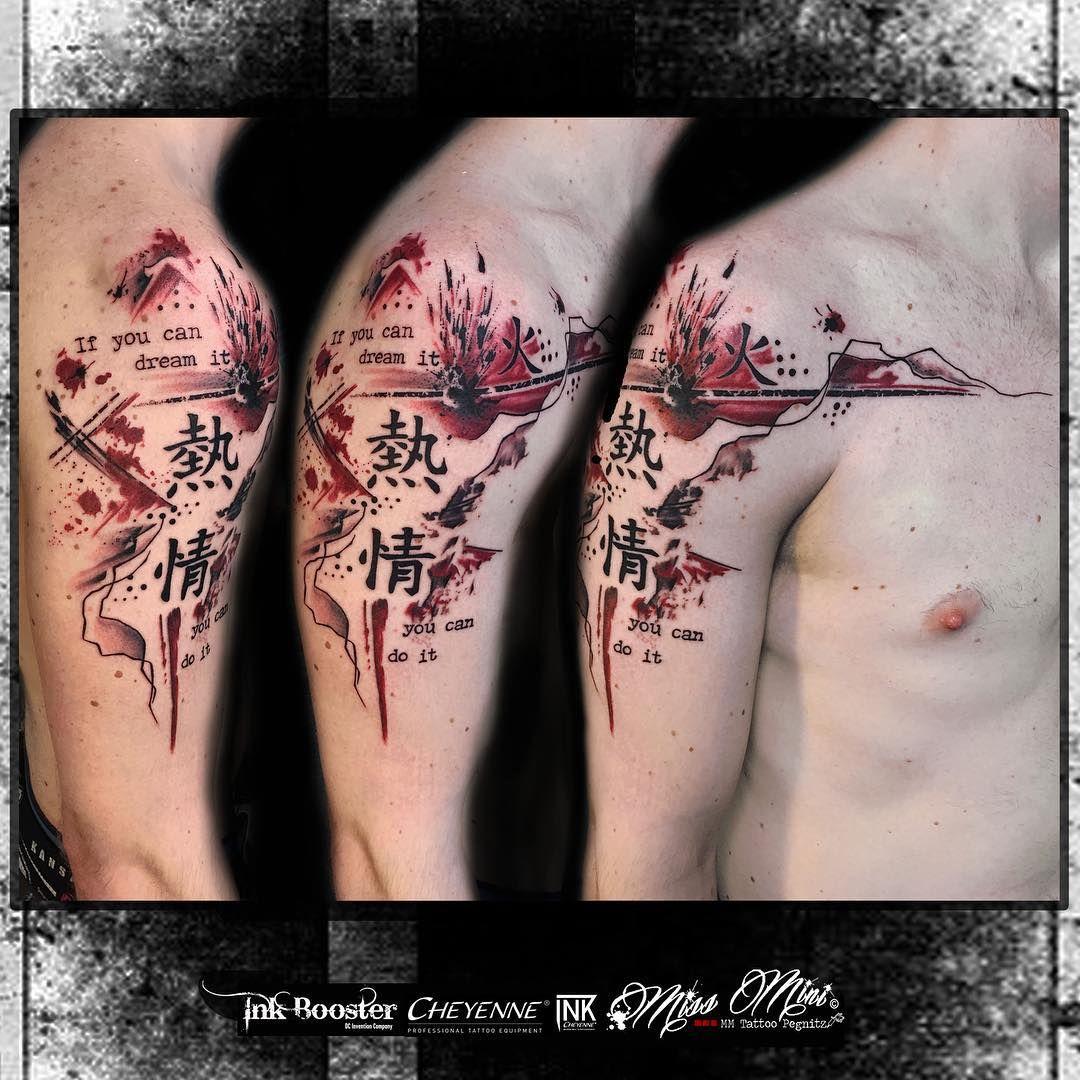 Asian Signs Trash Polka Tattoo Trash Polka Tattoo Trash Polka