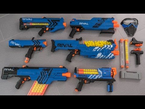 Nerf Rival Series Overview Amp Top Picks Youtube Rubix
