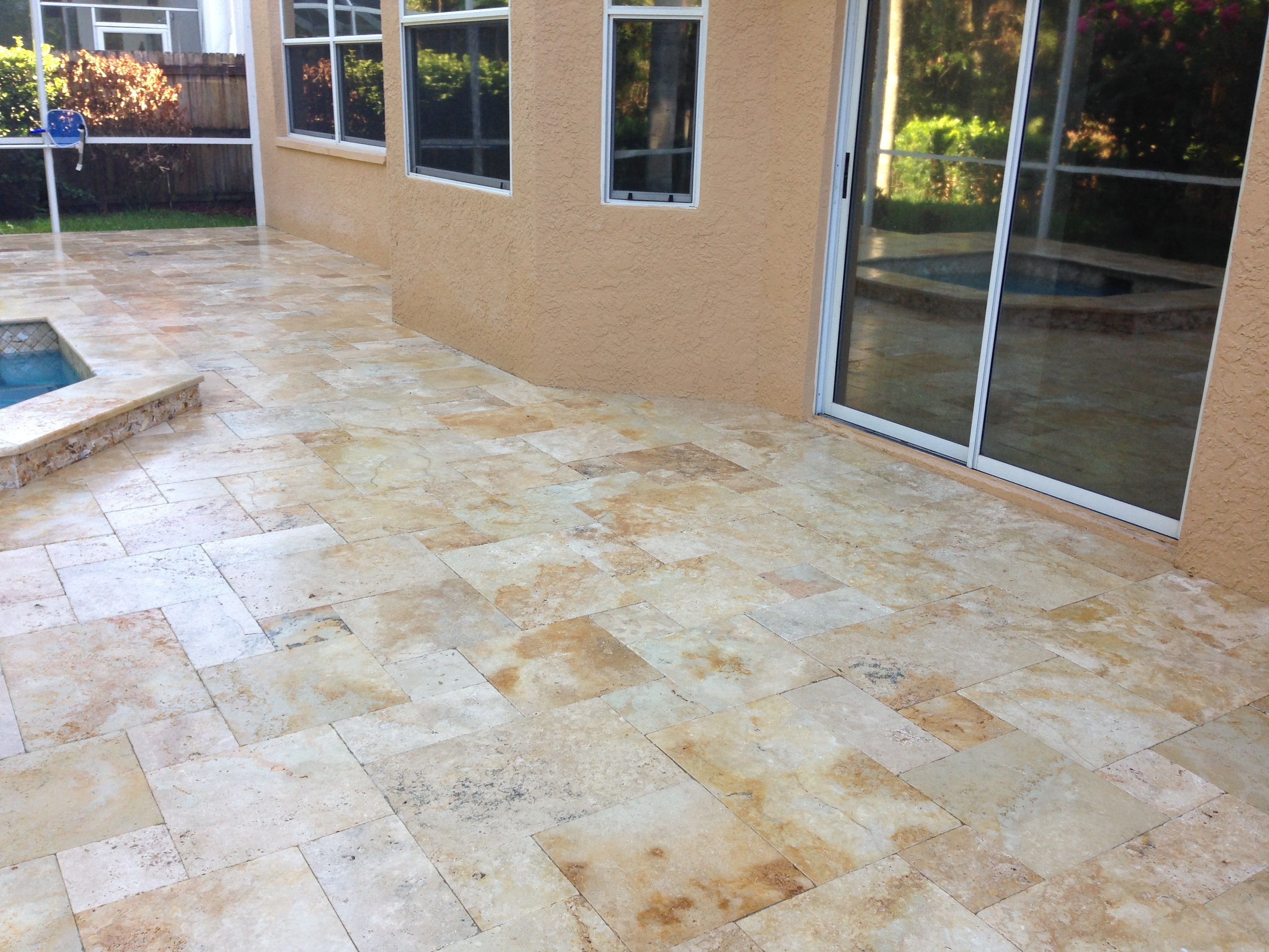 Country Classic Travertine Pavers And Leonardo Travertine