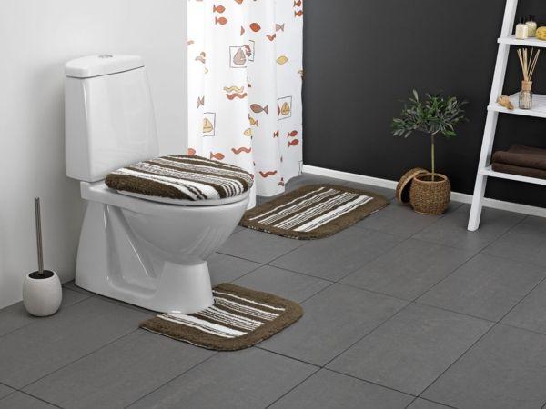 Badezimmerteppich set ~ Badvorleger set badetepich badezimmer ideen badematte badezimmer