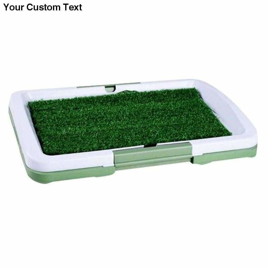 Dog Litter Item Type: Litter BoxesUsage: Dog toilet lawnModel Number: NPET011Usage: Litter BoxesApplicable category: Cat, dogN: Cat litter box/Dog toiletMaterial: PPSize: 47.5*6*34.5cmColor: Green, whiteDog Litter Item Type: Pooper Scoopers & BagsCharacteristics: DetachableAdvantage: Easy to clean, environmentally friendlyFunction: Simulated lawn indoor potty