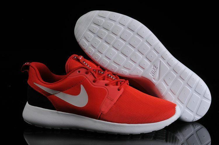 654f825fda0fd Mode 636220 600 Nike Roshe Run Hyperfuse Mens Light Crimson Pure Platinum  Black Workout Shoes