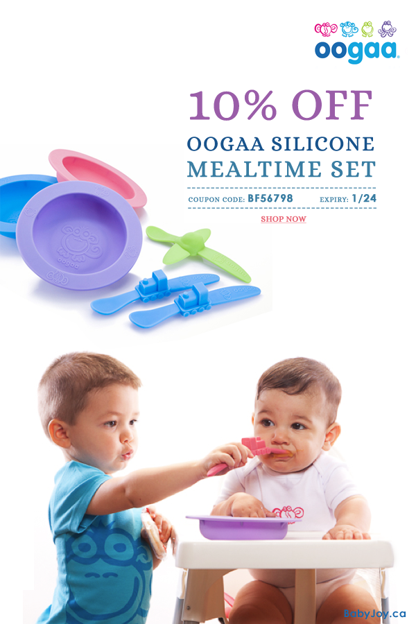 Limited Time Only 10 OFF on Oogaa Silicone Mealtime