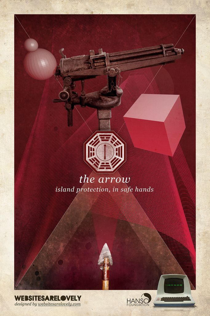 LOST DHARMA Initiative stations The Arrow