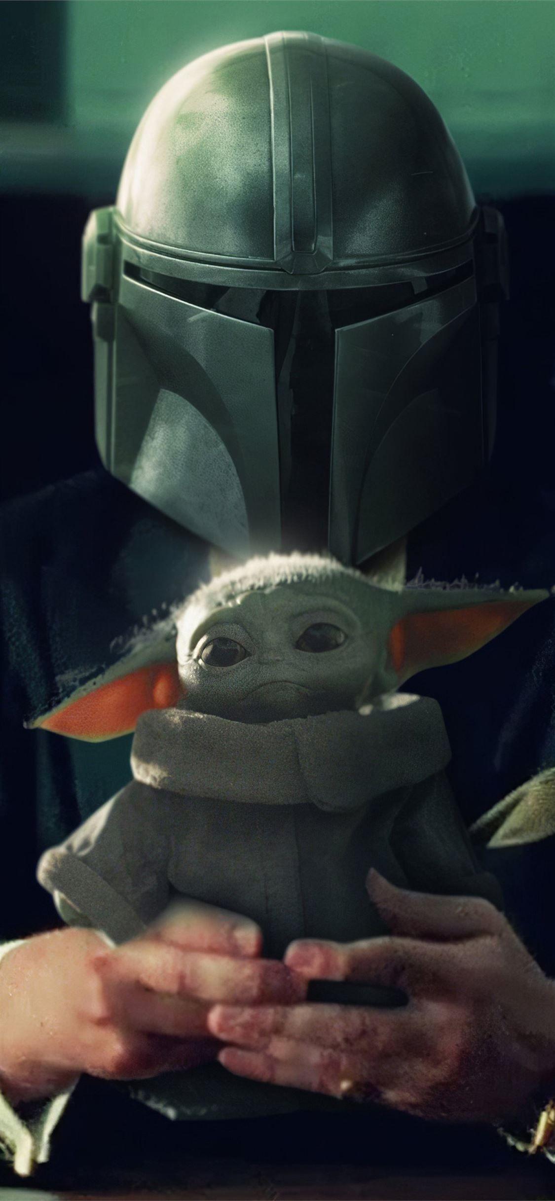 The Mandalorian Yoda 4k Themandalorian Tvshows Starwars 4k Babyyoda Movies Iphone11wallpaper Mandalorian Star Wars Star Wars Background