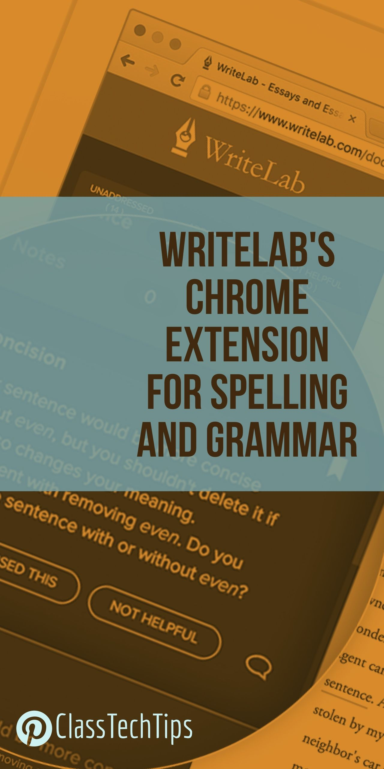 WriteLab's Chrome Extension for more than Spelling and