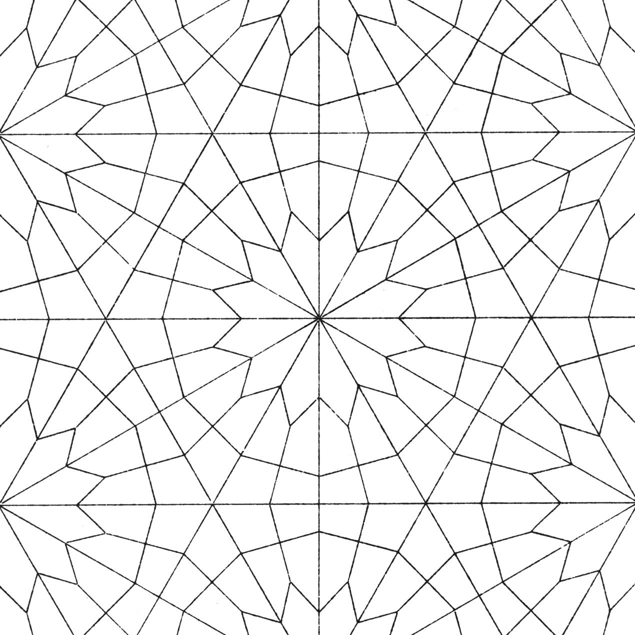 The David Collection Islamic Patterns Pattern Coloring Pages Geometric Patterns Coloring Islamic Patterns