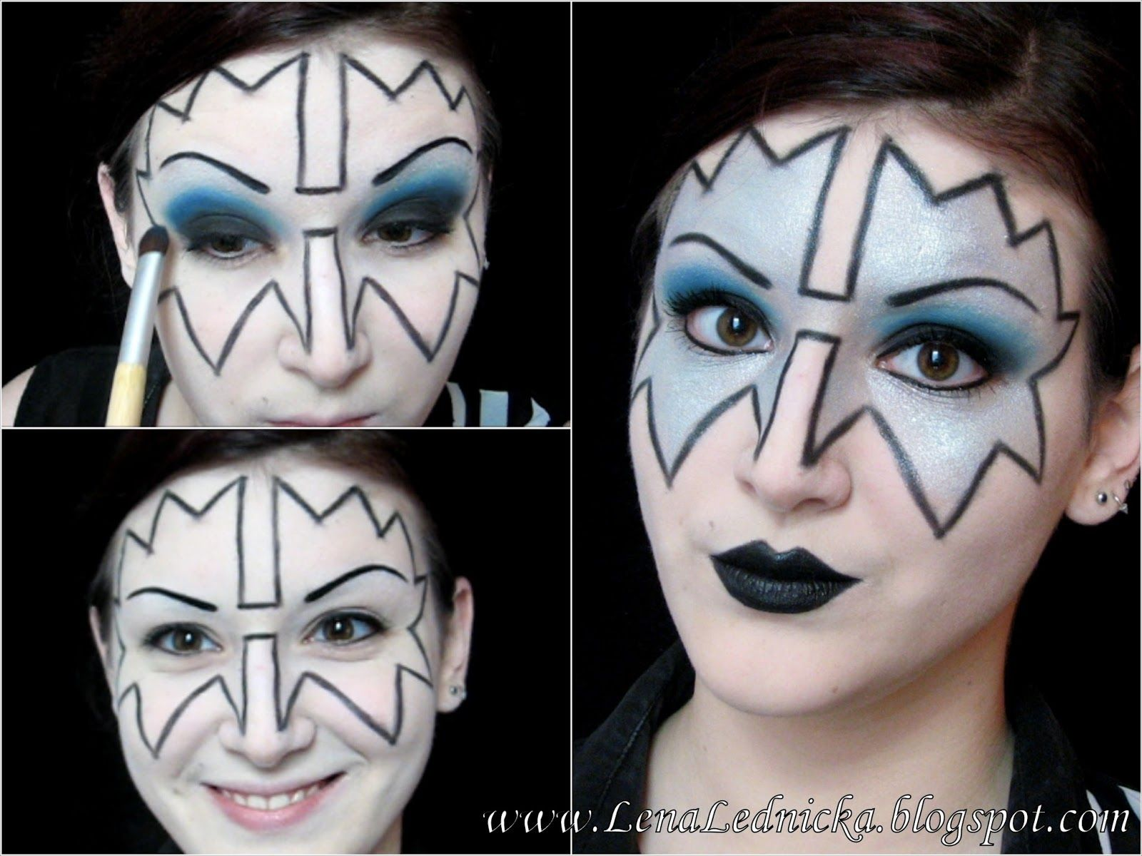Kiss Spaceman Makeup Tutorial Kiss Band Makeup Kiss Band