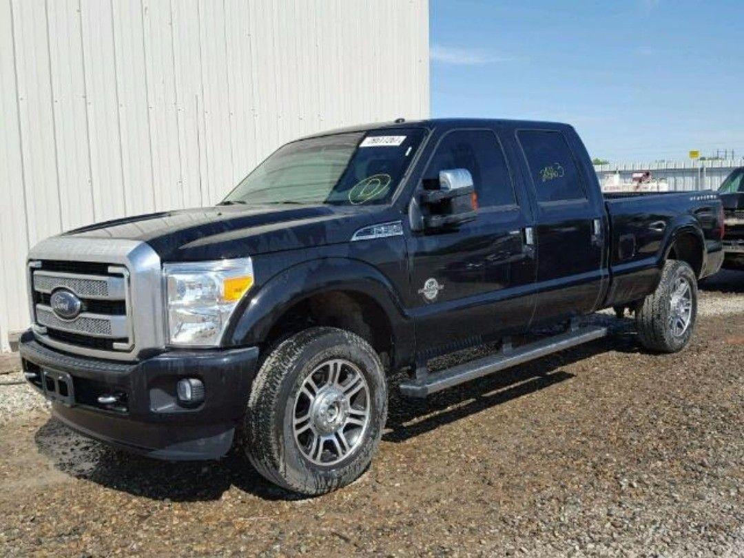 salvage 2016 #Ford #f350 #platinum www.bidgodrive.com #pickup #truck ...