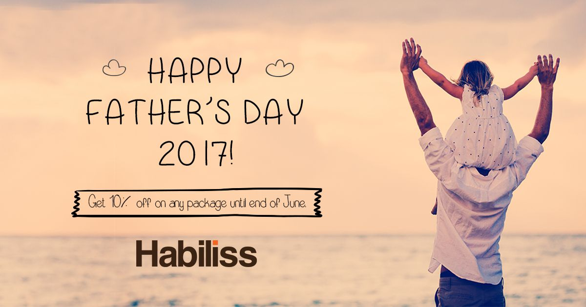 Forgot Father's Day gift? It's not too late! Gift a virtual assistant and get a 10% discount anytime until end of June! It just takes a minute to register!