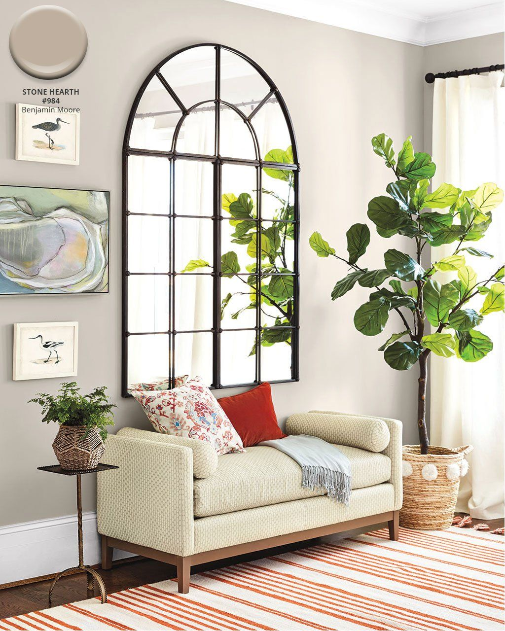 Summer 2018 Paint Colors from our Catalog | How to Decorate #indoorpaintcolors