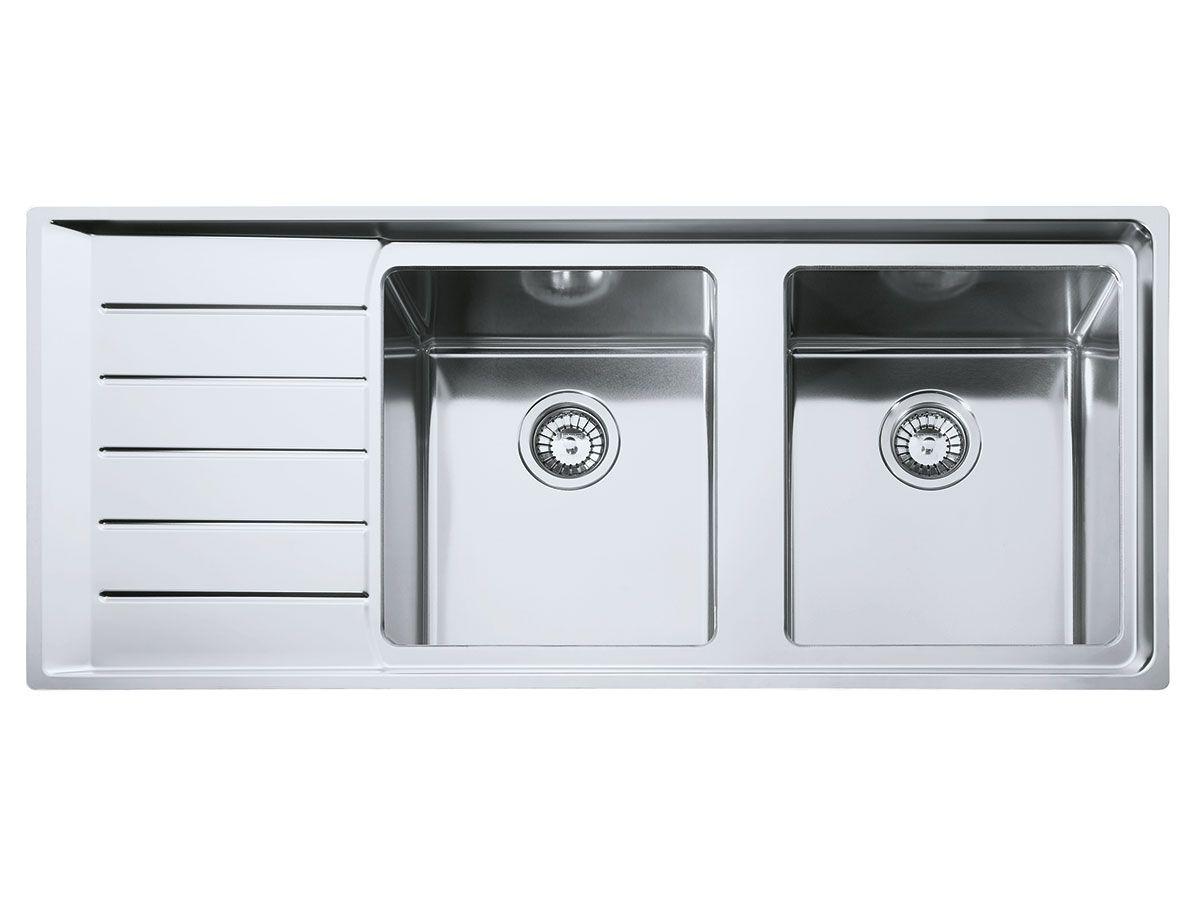 Squared Off Sink Reece 749 Double Bowl Sink Sink Franke Kitchen