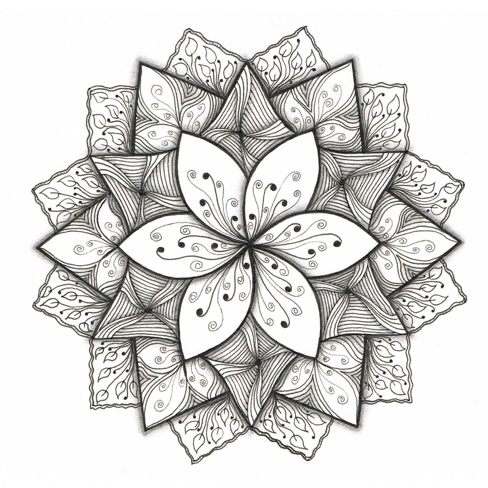 Creative Doodling with Judy West Dare 43 plus 3 New Patterns