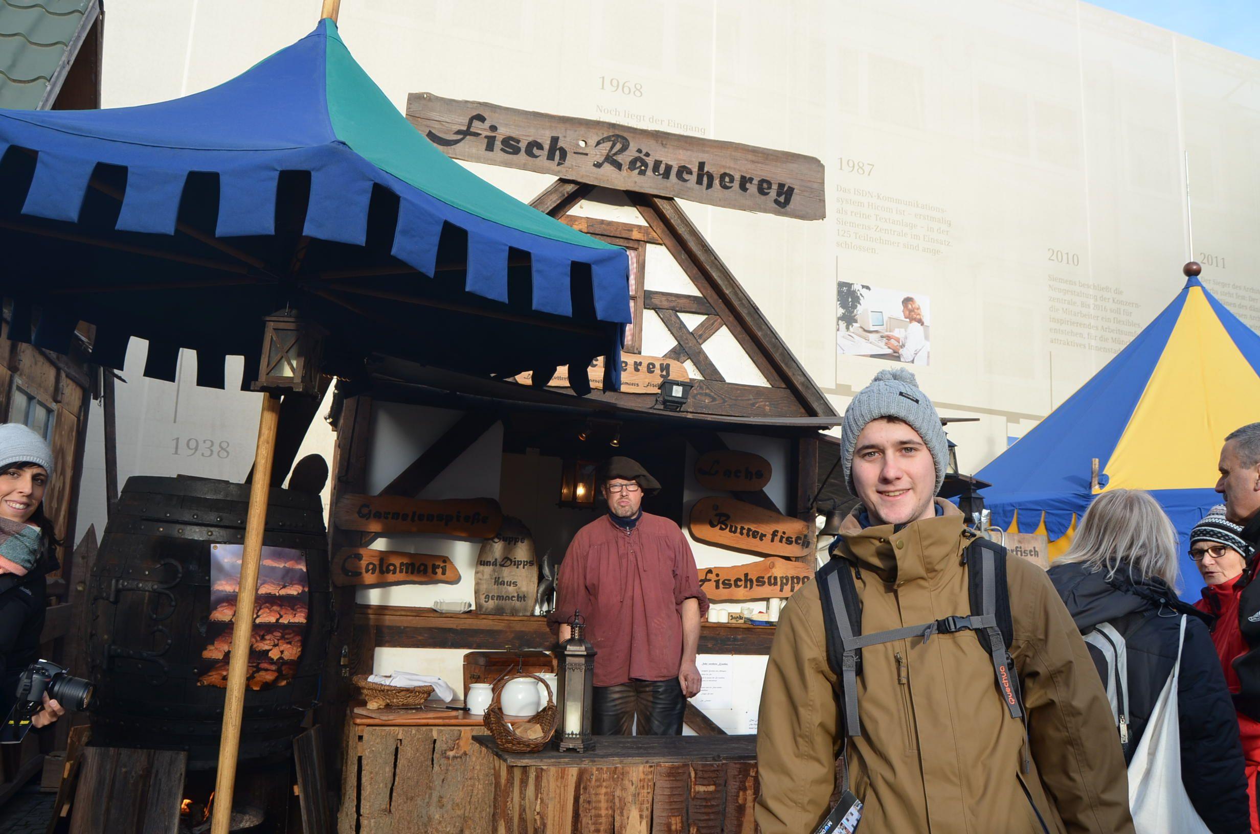 Mercado medieval navideño Múnich