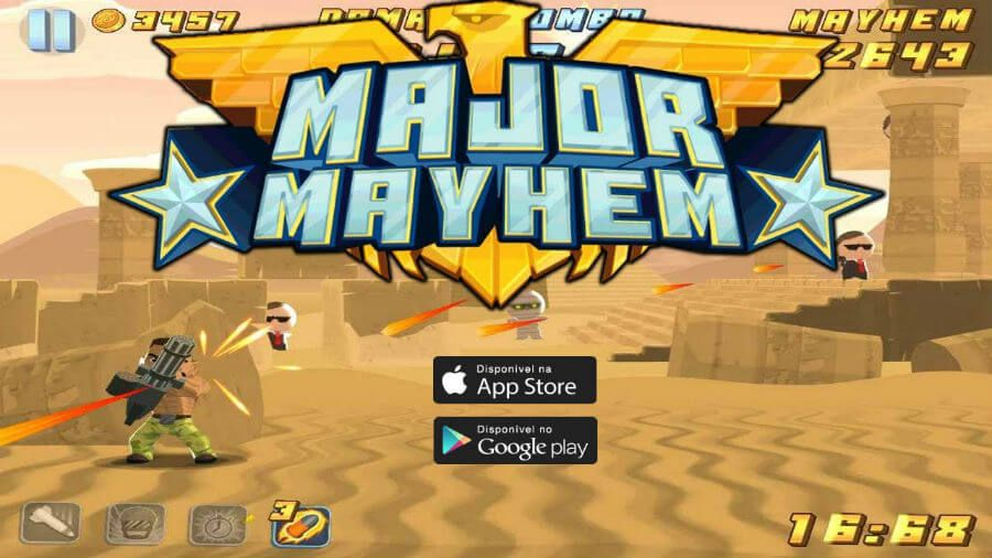 Download Major Mayhem Apk One Touch Shooting Gameplay Cheating