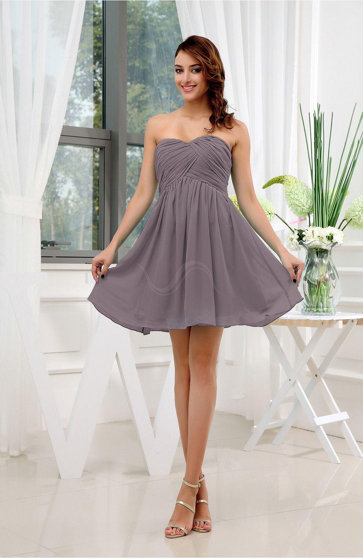 Semi formal dresses for wedding reception  Cameo Party Dress  Informal Sleeveless Zip up Short Ruching  Zip