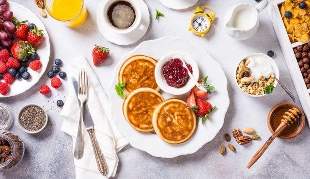 3 schnelle Rezepte für Eiweißpfannkuchen,  #EiweißPfannkuchen #Fitness-MahlzeitAbendessenFitnessMahl...
