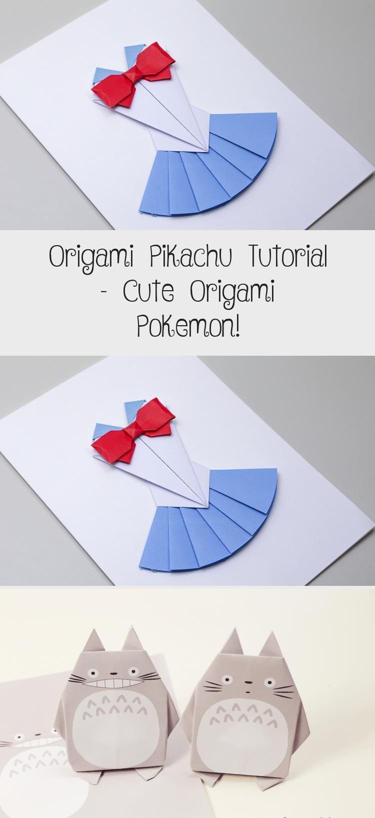Photo of Origami Pikachu Tutorial – Cute Origami Pokemon! – Paper Kawaii #origamiCorazon …