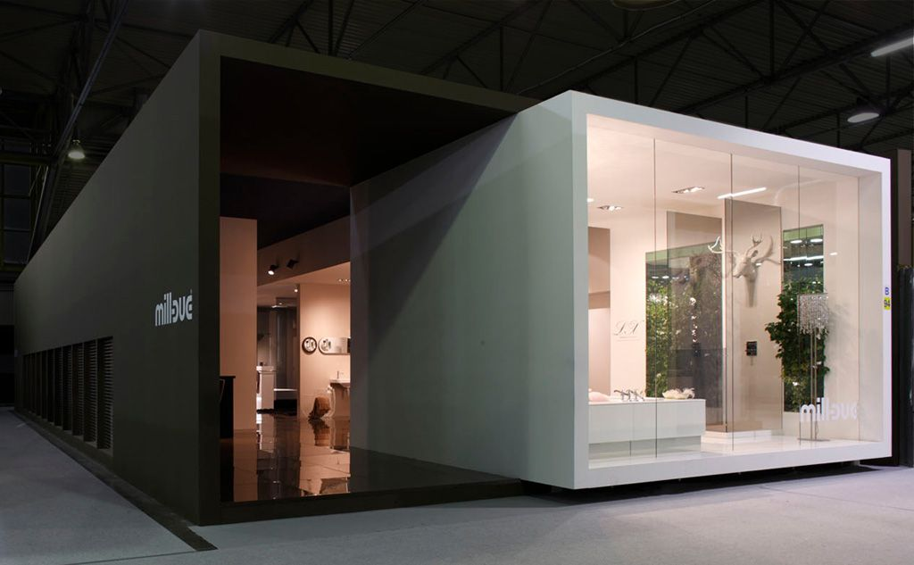 Modern Exhibition Stand Design : International contemporary furniture fair cersaie