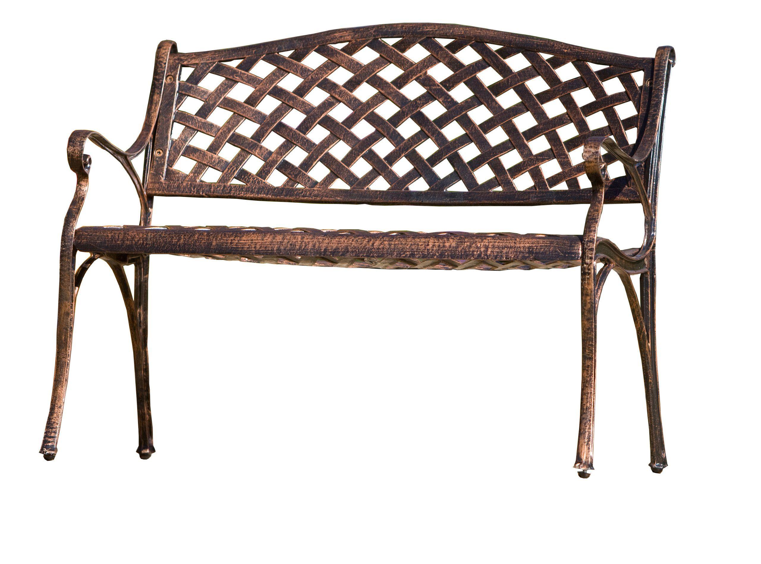 Buy best selling cozumel cast aluminum bench antique copper finish