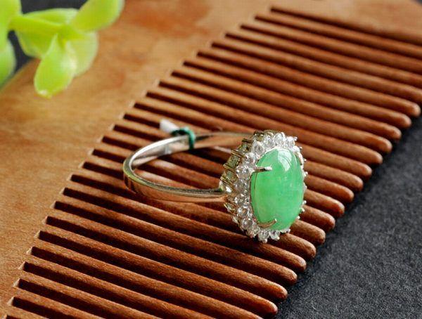 Full Green Jadeite Ring Jade Ring Jade Jewelry Jewelry