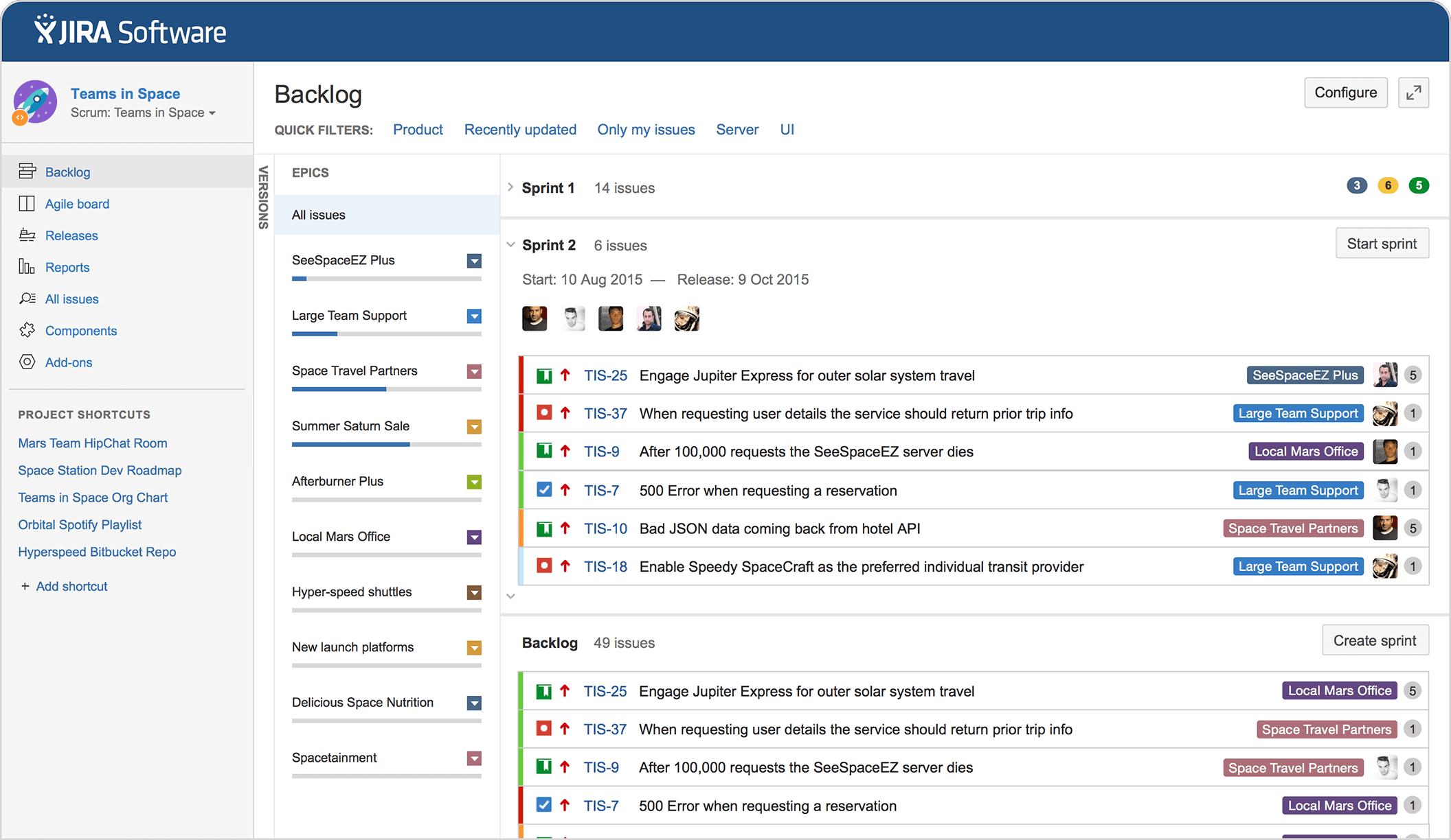 Jira Software Issue Project Tracking For Software Teams Atlassian Projet De Developpement Logiciel Methode Agile