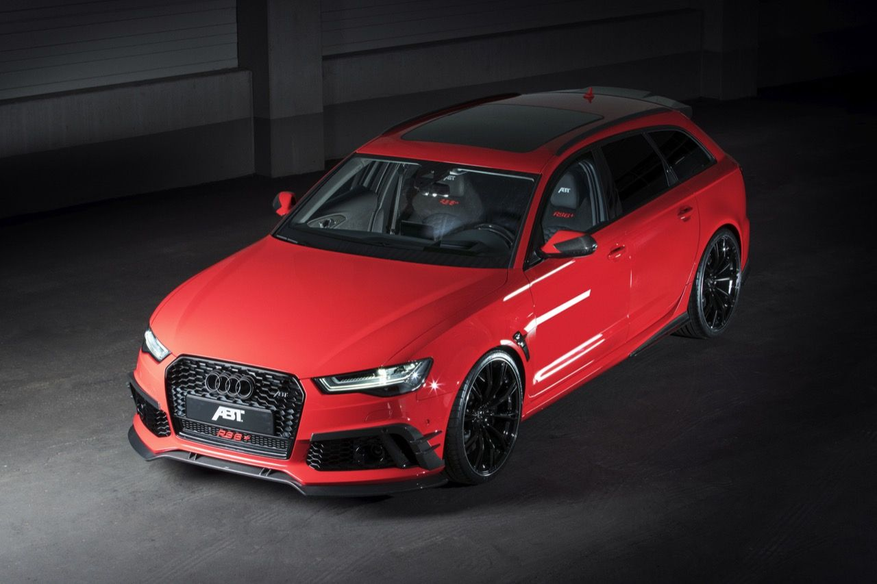 Abt Presented A Modified Rs6 Avant That Will Be Produced In Just 50 Units The Car 39 S 4 0 Liter V8 Tfsi Engine Is M Audi Rs6 Audi Rs6 Plus Cool Sports Cars