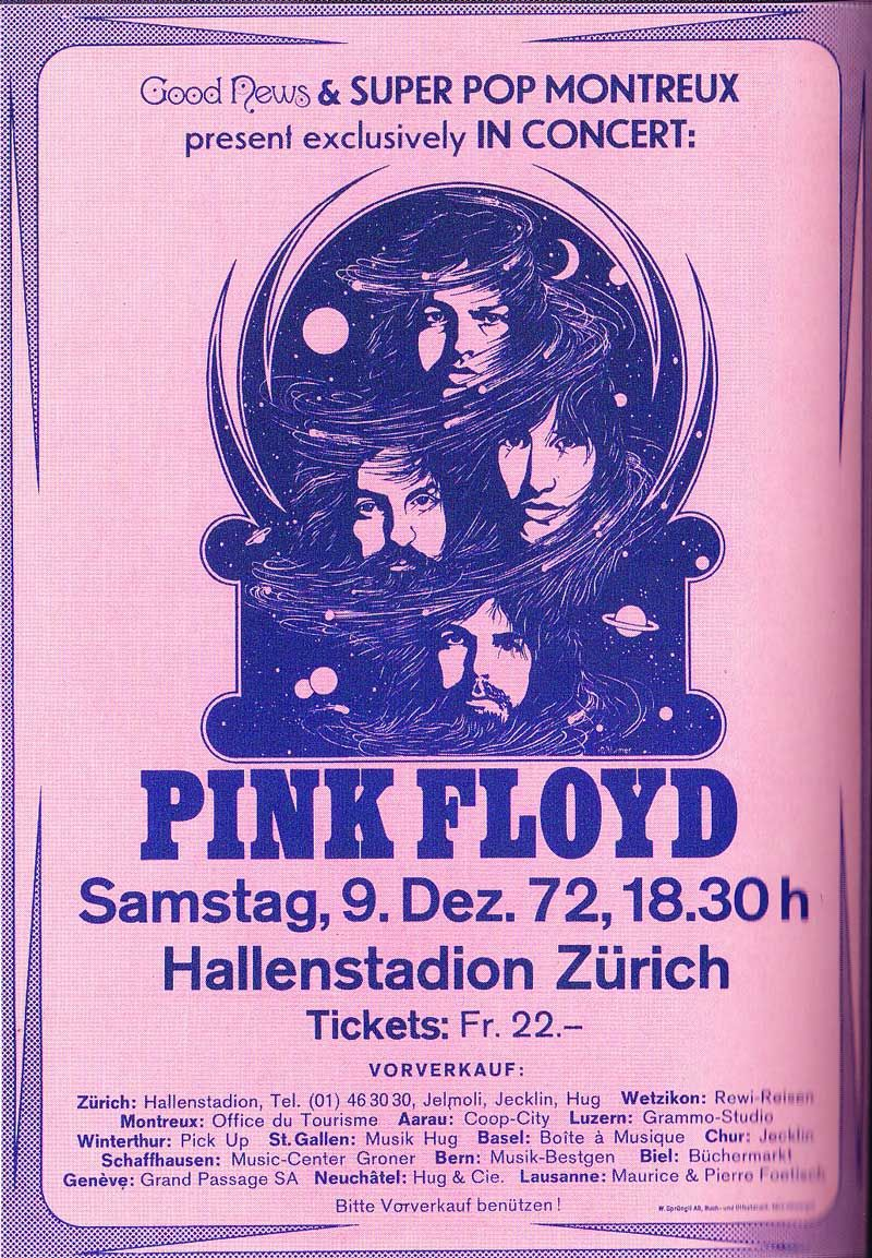 Psychedelic concert poster tumblr