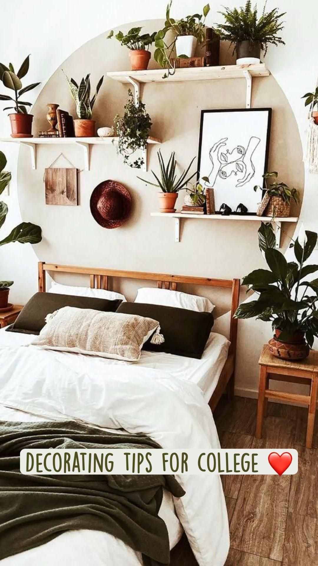 Boho Small Space Living Update