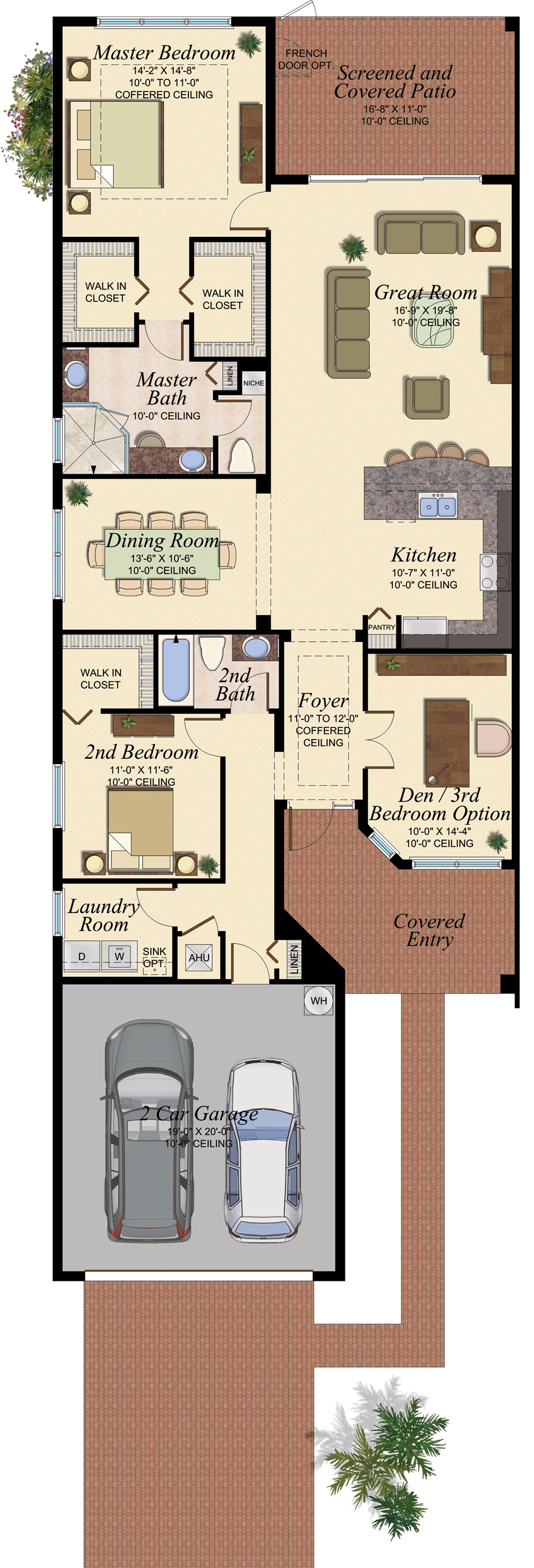 Oxford At Marbella Isles Floor Plans Florida Homes For Sale Architecture Plan