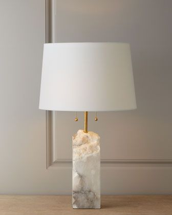 Raw alabaster lamp by regina andrew design at horchow