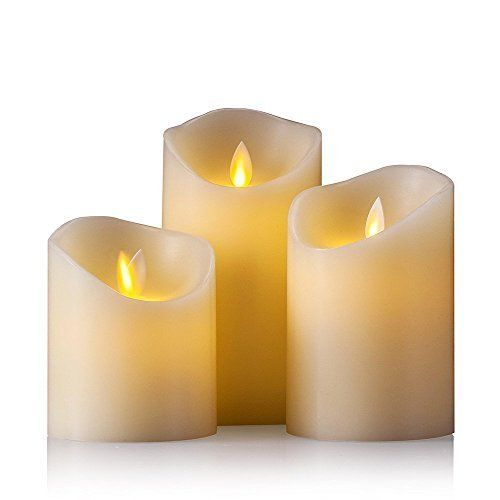 Air Zuker Flameless Candle Battery Operated Flickering Flameless