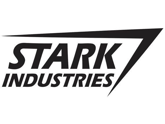 Stark Industries Logo Iron Man Vinyl Decal Sup Ml4 20 Via Etsy Stark Industries Industry Logo Stark