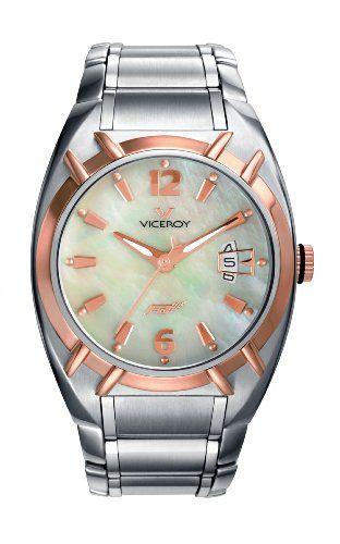 Viceroy 47518-95 - Reloj de mujer de cuarzo, correa de acero inoxidabl