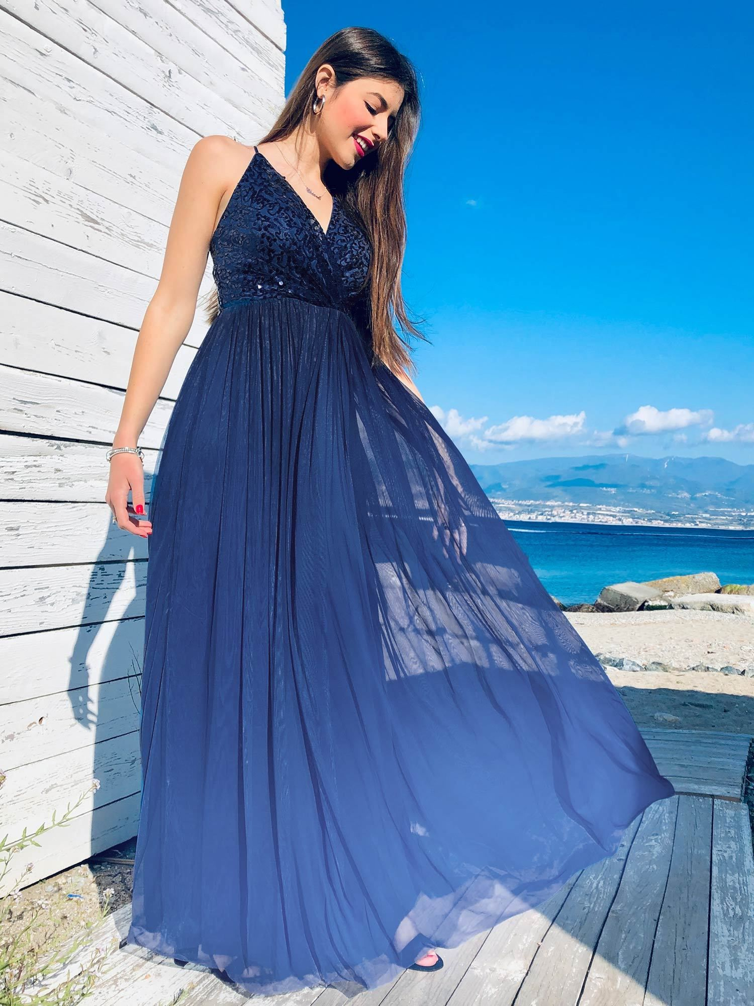 Neue Kollektion 2020 in 2020 | Kleid ombre, Blaue ...