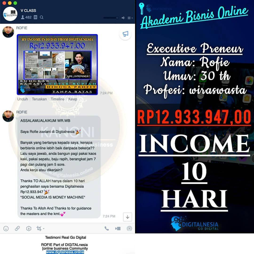 Miliki Segera Bisnis Online Dengan Profit 1-8 jt / Hari ...