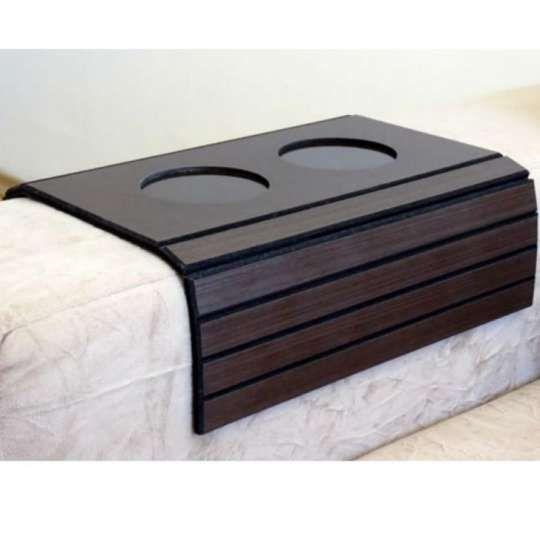 Esteira Bandeja Para Braco De Sofa Com Porta Copo De Pvc 106 Esteira Para Sofa Porta Copos Lojas De Moveis Online
